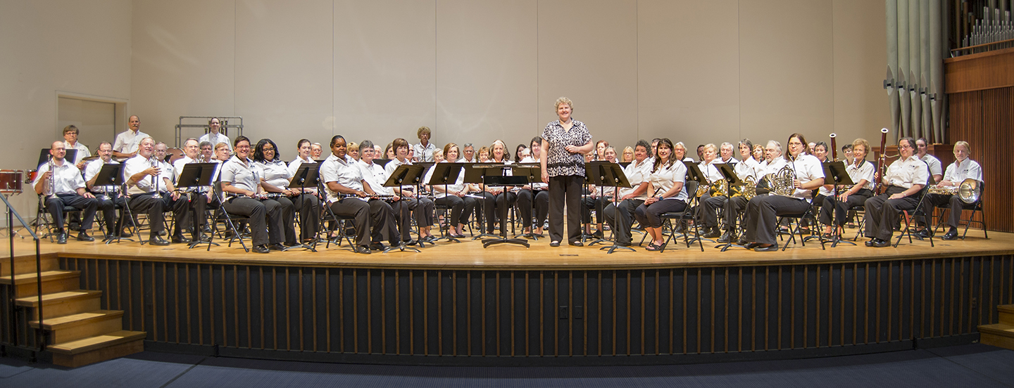 Salem Band in Hanes Auditorium